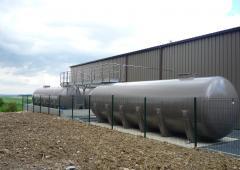 Cuves effluents - Cuves fibre de verre