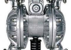 - Pompe pneumatique à membranes