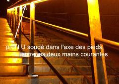 - Main courantes LED